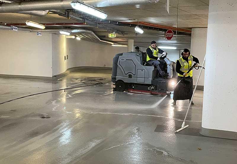 Reinigung Tiefgarage Mainz