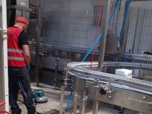 Industriereinigung Produktion